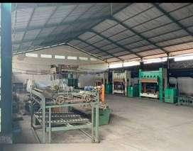Pabrik dan gudang murah di ngoro mojosari mojokerto. Kontruksi baja.