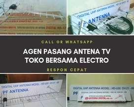Pasang signal antena tv murah bekasi barat
