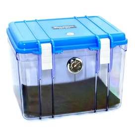 Dry Box Kamera Kotak Kering dengan Dehumidifier Size S - Blue