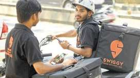 SWIGGY job openings for Delivery Boys/ Biker/ Counter sales boys