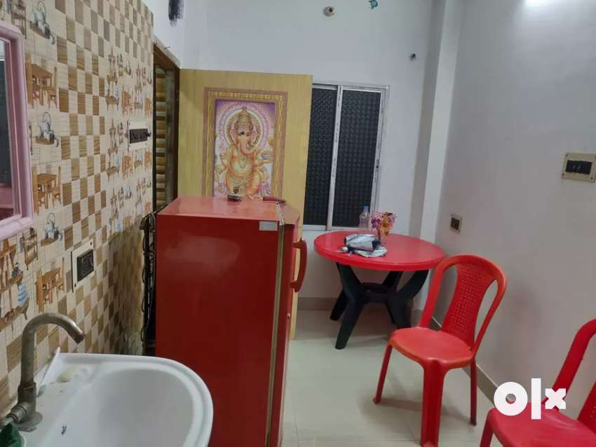 1Bhk fully furnished flat available for rent in Tollygunge 0
