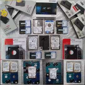 HARD DISK HDD SSD 120GB 250GB 500GB 1TB HARDISK LAPTOP NOTEBOOK SSD PC
