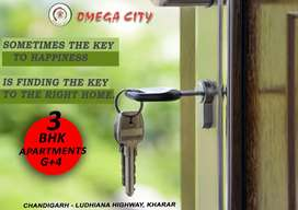 Luxury Apartments for salein Rs42,90 Lac Ldh-highway Chandigarh