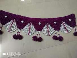 Wool toran handmade