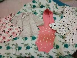 Baju anak perempuan * 4 pc )