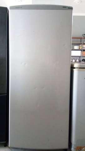 Jual murah meriah Freezer Berdiri Aqua Sanyo kinyis2 siap pakai normal