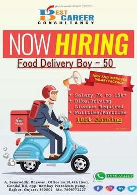 Urgent need delivery boys in Shadowfax Swiggy