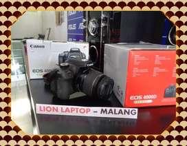 Second Kamera DSLR CANON EOS 4000D Kit 18-55mm IS III