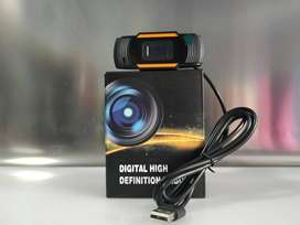 Webcam HD 720P with Built In Microphone Live Cam