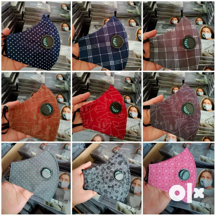 3 ply 100% cotton masks 0