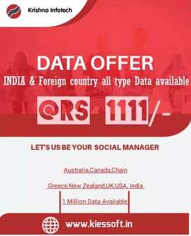 Data offer
