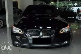 Di JUAL BMW 523i E60 LCi JOYSTICK & IMMOBILIZER 2008 BLACK ON BEIGE