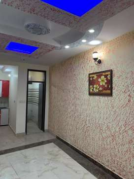 60 SQ yards 2bhk fully furnished flat at 19 lacs in uttam nagar west
