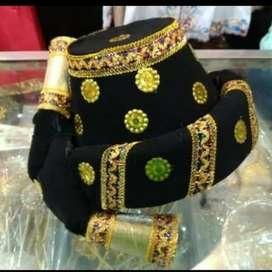 Topi batak mandailing dewasa - baju adat sumatra