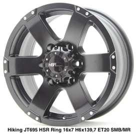 HIKING JT695 HSR R16X7 H6X139,7 ET20 SMB