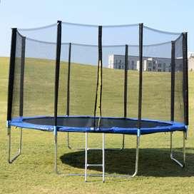 14 feet trampoline best condition