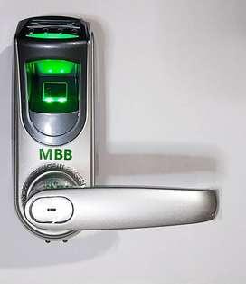 Gagang Pintu MBB L7000 Fingerprint Cocok Untuk Ruang Brankas Anda