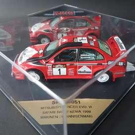 Mitsubishi Lancer WRC #1 Safari Kenya 1999 Limited 1/43 by Vitesse