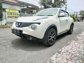 Juke RX 1.5 A/T 2012 white mutiara istimewaaaah