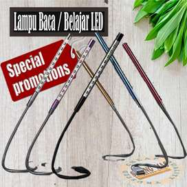 Lampu Belajar / Lampu Laptop USB Metal Flexible 10 LED