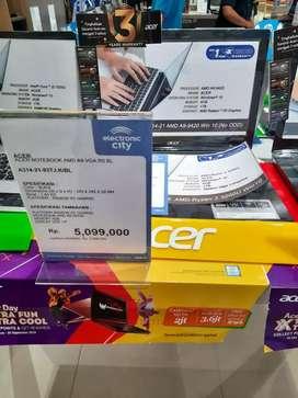 Acer Notebook bisa cicilan tanpa kartu kredit