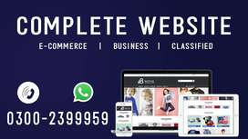 Website Design | Business Website | SEO | eCommerce | Domain & Hosting