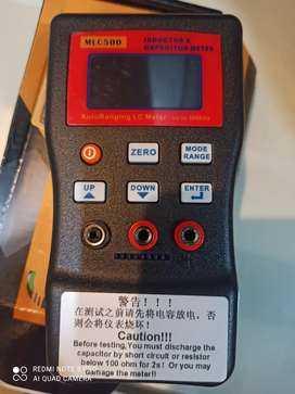 Capacitor meter / inductance meter
