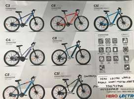 Brand new Hero electric cycles for sale