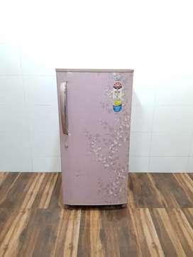LG 190ltr flower model single door refrigerator