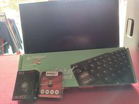 Hp desktop i3 acer  19 inch led  4gb ram 320gb hdd