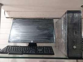 "COMPUTER  HP CORE I7 3RD / 8GB / 1TBGB / 19"" SCREEN BRAND HP DESKTOP"