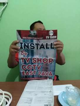 Paket 4 cctv FULL HD murah, bisa pantau via HP, anti air garansi 3th.