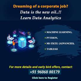 Now Become Data Analyst- Join Data Analytics Live Classroom Training!