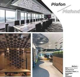 Jasa Pembuatan Plafon ( Ceiling ) / Laser Metal