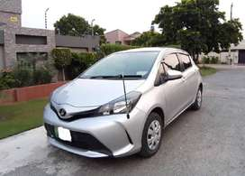 Toyota Vitz F Limited 1.0 2014 on easy installment