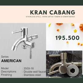 Kran Cabang Stainless 2503-18