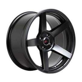 HSR-NE3-JD5068-Ring-17x7-9 Hole-4x100-ET-45-Semi-Matte-Black