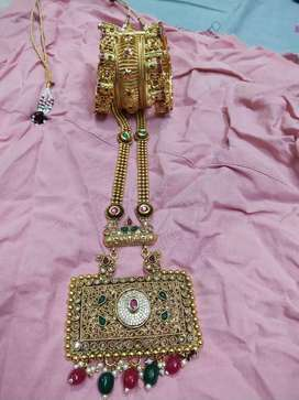 Anitiq gold bangels and chain for sale new models one time use