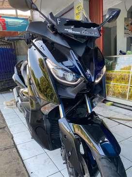 Yamaha Xmax 250 hitam glossy Plat F like new modif dikit