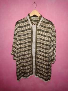 Bismillah, dijual kemeja Silk versace Seta Per Uomo italy original