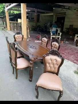 Jual kursi makan Ganesa plus meja