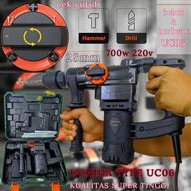 jack hammer drill demolition mesin bor beton uchiha impact drill ori