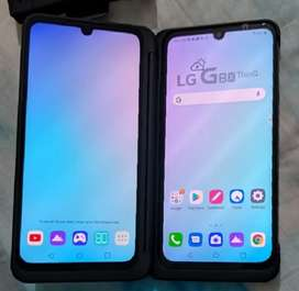 LG G8X dual screen phone under warranty with bill and box.