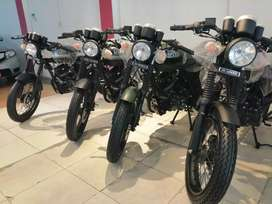 Bull hi Speed Infinity SR 150cc cafe racer at OW Motors Hi speed