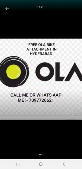 FREE Ola Bike Attachment Now In Hyderabad