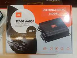 JBL stage amplifier for awesome sound quality in car.560w installation