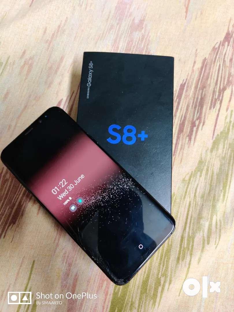 Samsung S8 plus Display Crack