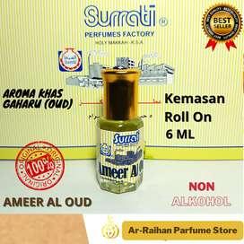 Parfum Ameer Al Oud Surrati 6 ml Kemasan Roll On