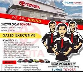 Lowongan Kerja Sales Marketing Toyota