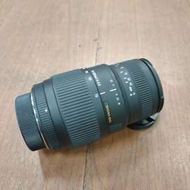 Sigma tele 70-300mm f4.-5.6 For Nikon